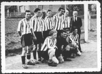 Mannschaft der ersten Jahre